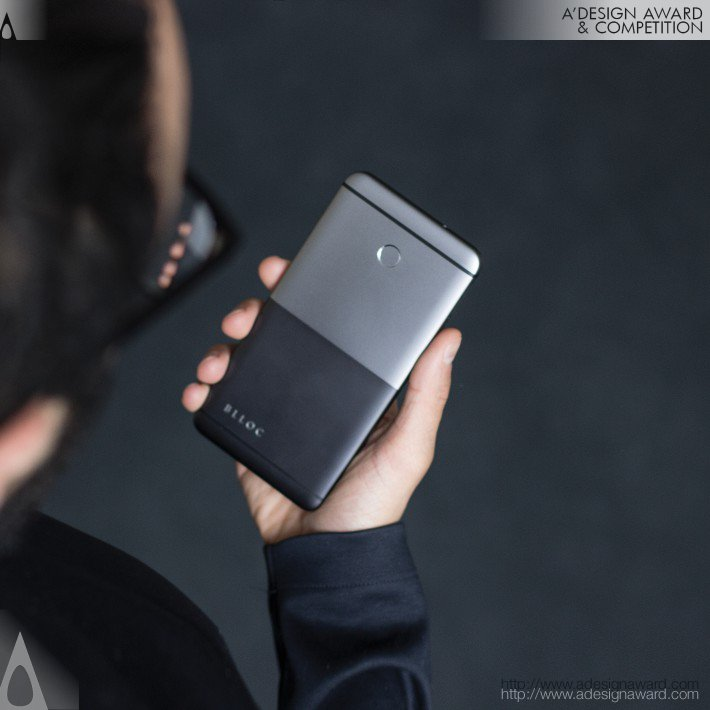 Blloc Phone (Business Smartphone Design)