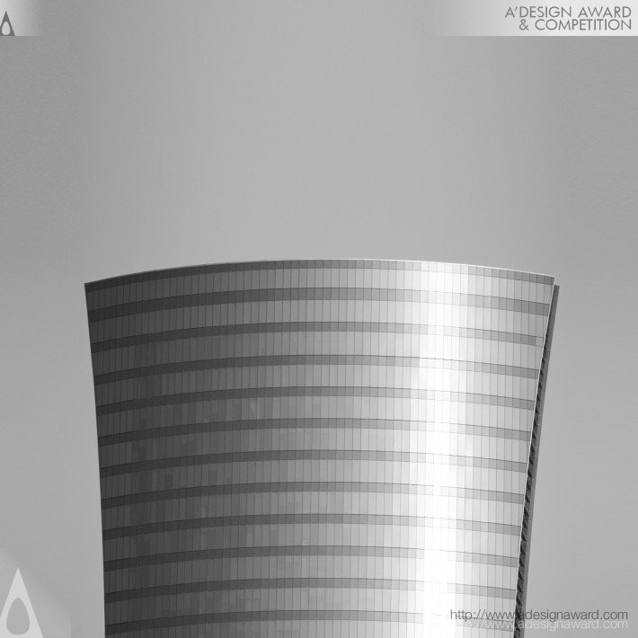 Qatar Navigation Tower (Commercial Offices Building Design)