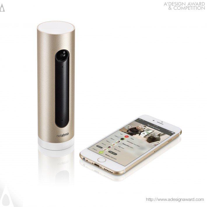 Netatmo Welcome (Indoor Home Security Camera Design)