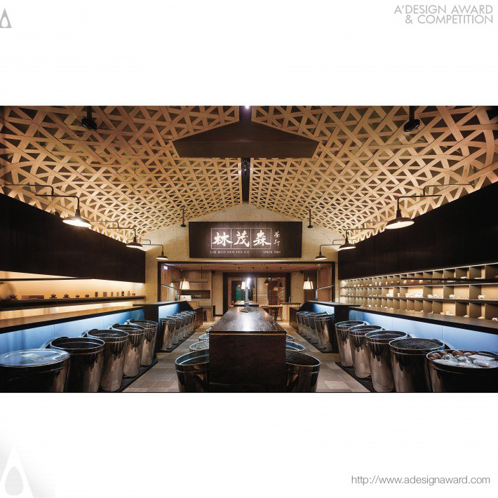 Lin Mao Sen Tea Store by Ahead Concept Design