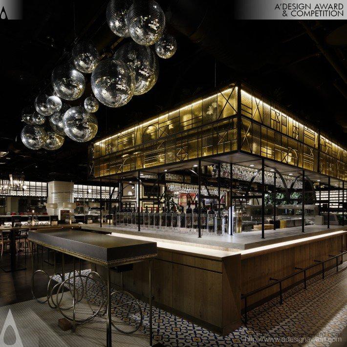 La Boca Centro (Restaurant Design)