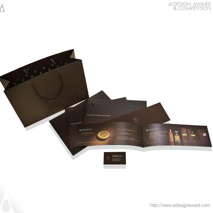 Johnnie Walker Signature Blend (Collateral Materials Design)