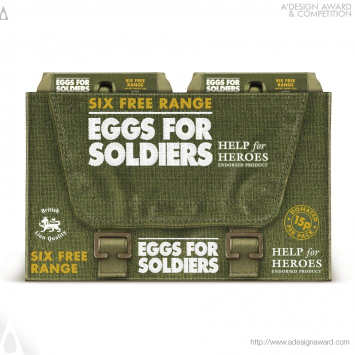 Eggs For Soldiers (Free Range Eggs Design)
