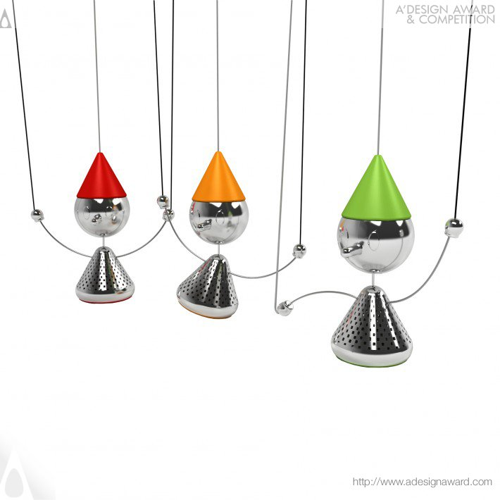 Teanocchio (Tea Infuser Design)