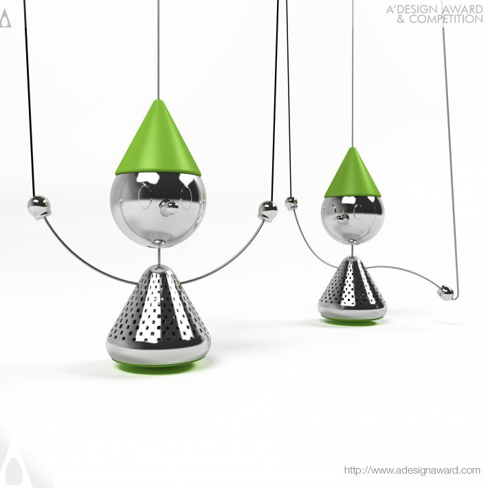 Teanocchio Tea Infuser by Soroush Vahidian Kamyar