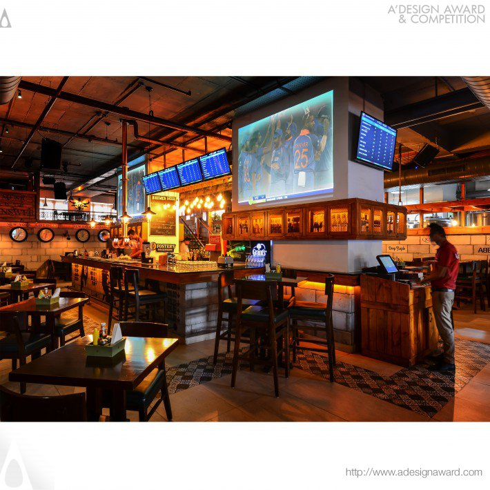 Vapour Sohna Road (Resturant and Bar Design)