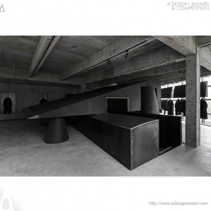 Hangzhou AN Interior Design Co.,Ltd. - Black Cant System Fashion Store