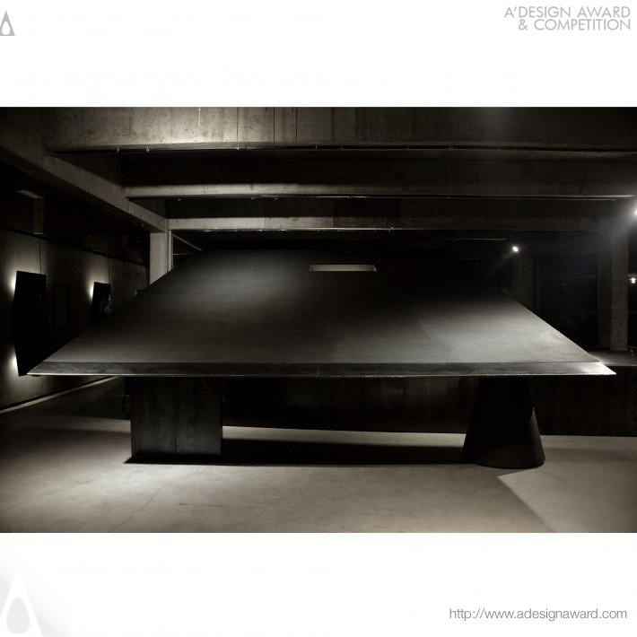 Black Cant System by Hangzhou AN Interior Design Co.,Ltd.
