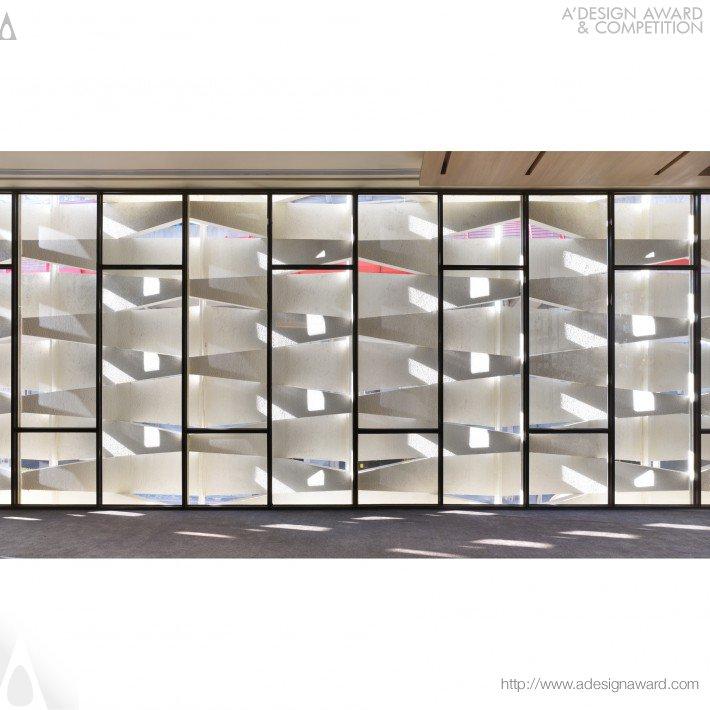 The Rhythm of Light (Public Service Center Design)