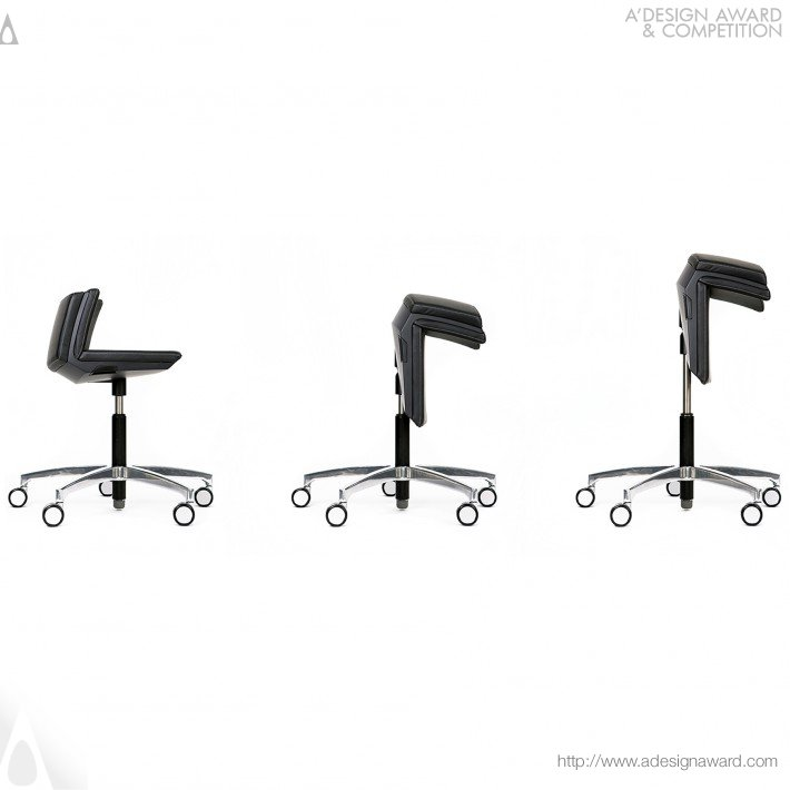 Stefan Zoell - Kinema Active Chair Swivel Chair