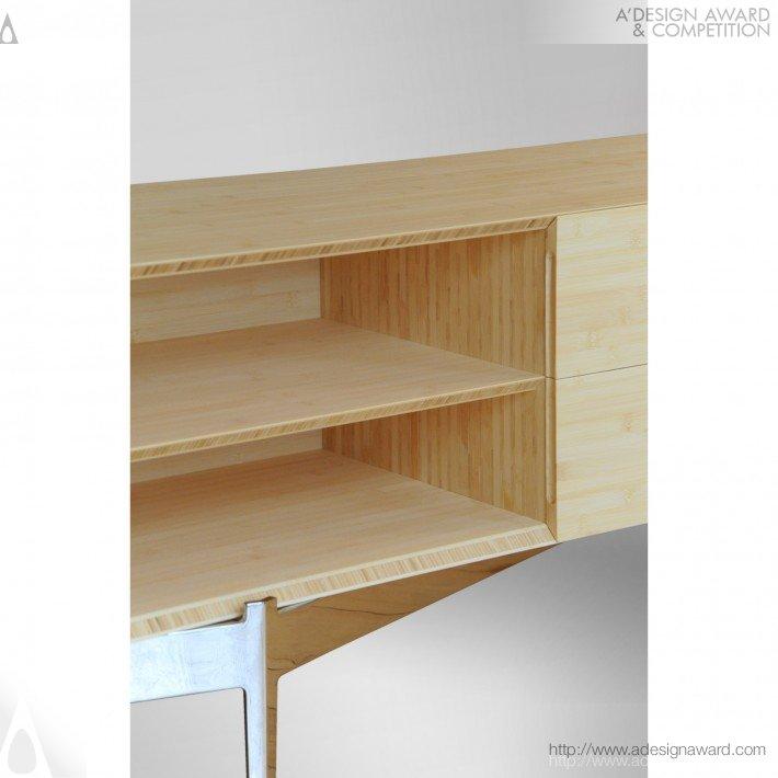 竹书柜 - 1 DESIGN STUDIO - 1 DESIGN STUDIO