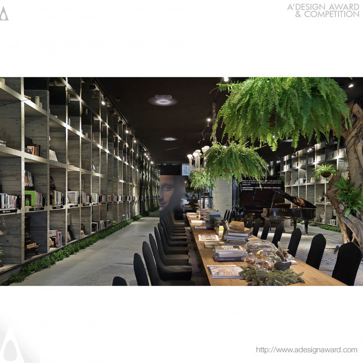 Le Le Book House (Interior Design Design)