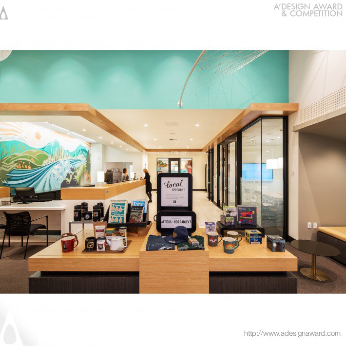 Umpqua Bank Spokane Main (Retail Store Design)