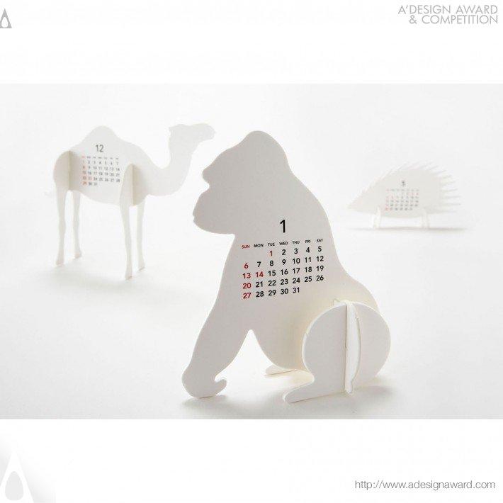 """Calendar 2013 """"zoo"""" (Calendar Design)"""