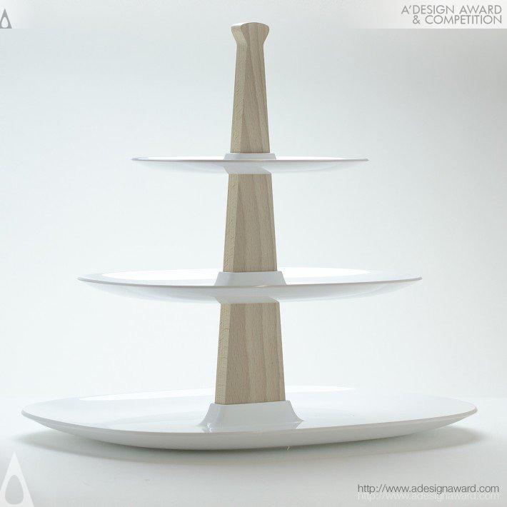 Temple (Cake Stand Design)