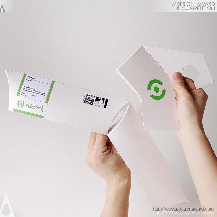 Noti D.i.y. Hanger Packaging (Green Packaging Transformation Design)