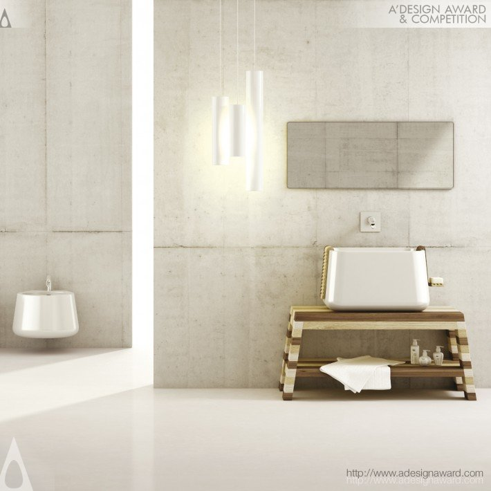 Bathroom Collection by Emanuele Pangrazi