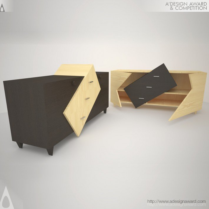 Furniture of Positive Emotions (Commode Design)