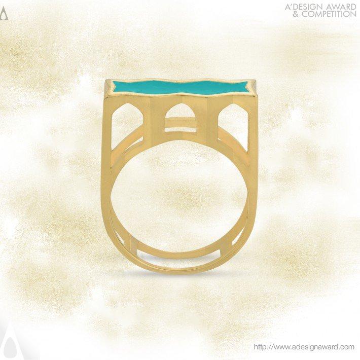 33 Spans Bridge (Ring Design)