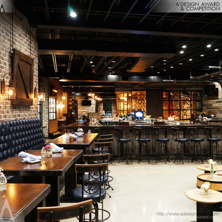 Bosscat (Bar and Restaurant Design)