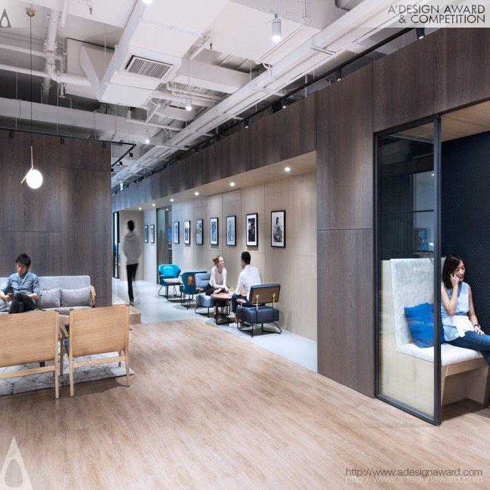 Warner Music (Workplace Office Design)