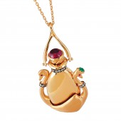 Swans in love perfume pendant aloadofball Image collections