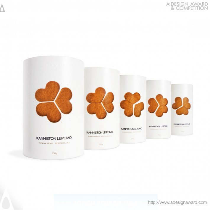 Kanniston Gingerbread Biscuits (Product-Packaging Innovation Design)