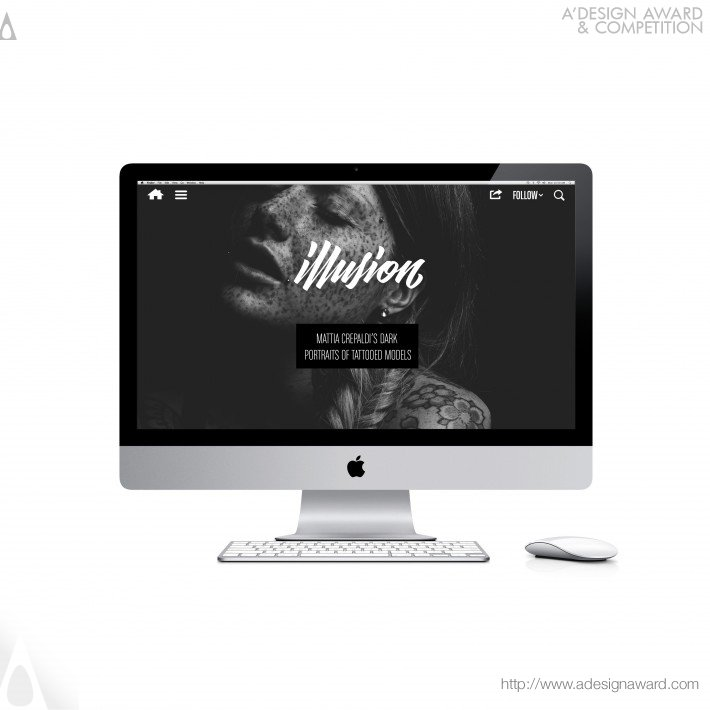 Illusion (full-Screen Redesign) (Website Design)