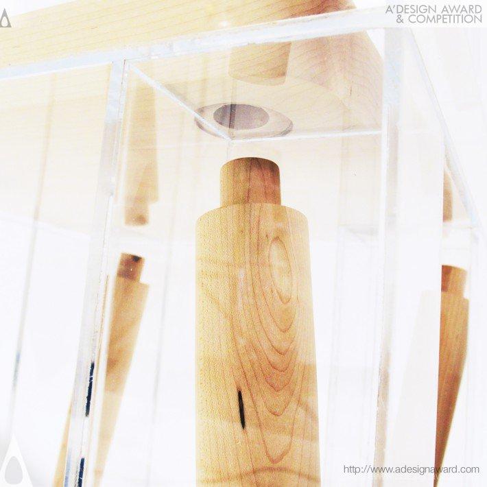 Exploded by Joyce Lin Au0027 Design Award