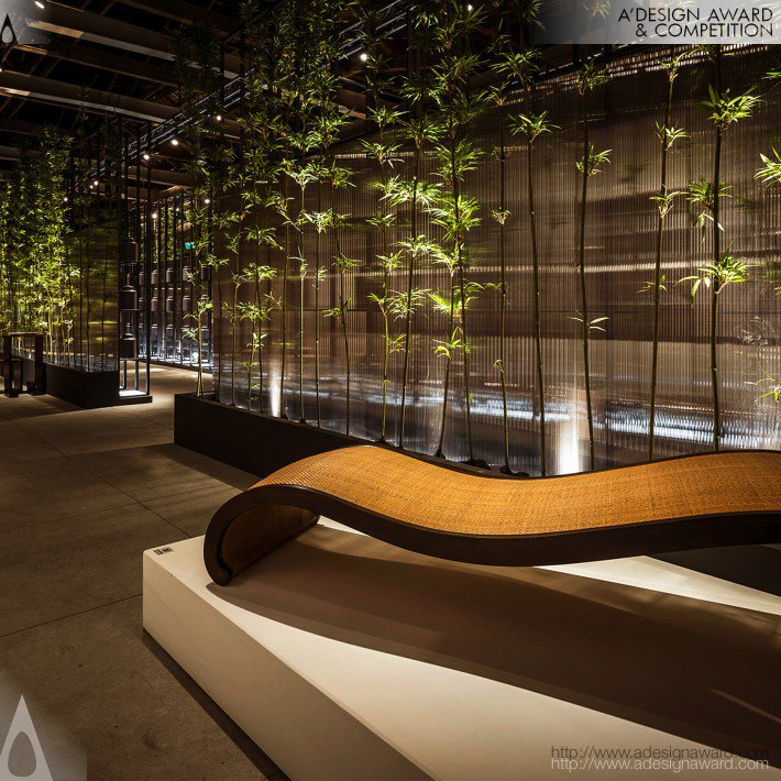 Misty Bamboo (Exhibition Space Design)