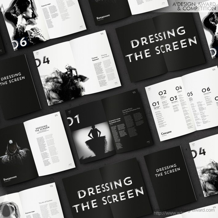 Dressing The Screen (Exhibition Identity Design)