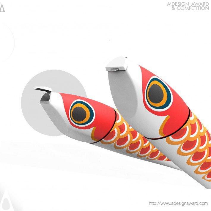 Koinobori Toothpaste (Toothpaste For Children Design)