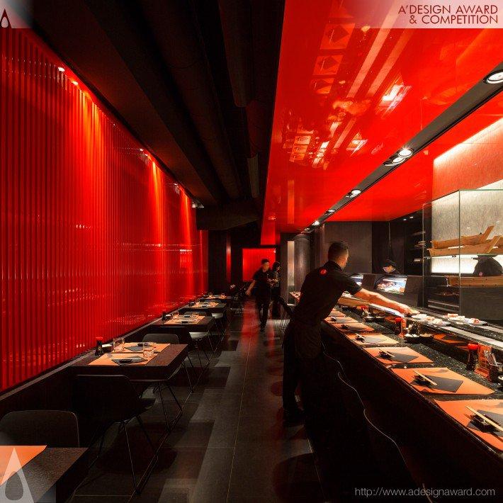 Zen Sushi (Japanese Restaurant Design)