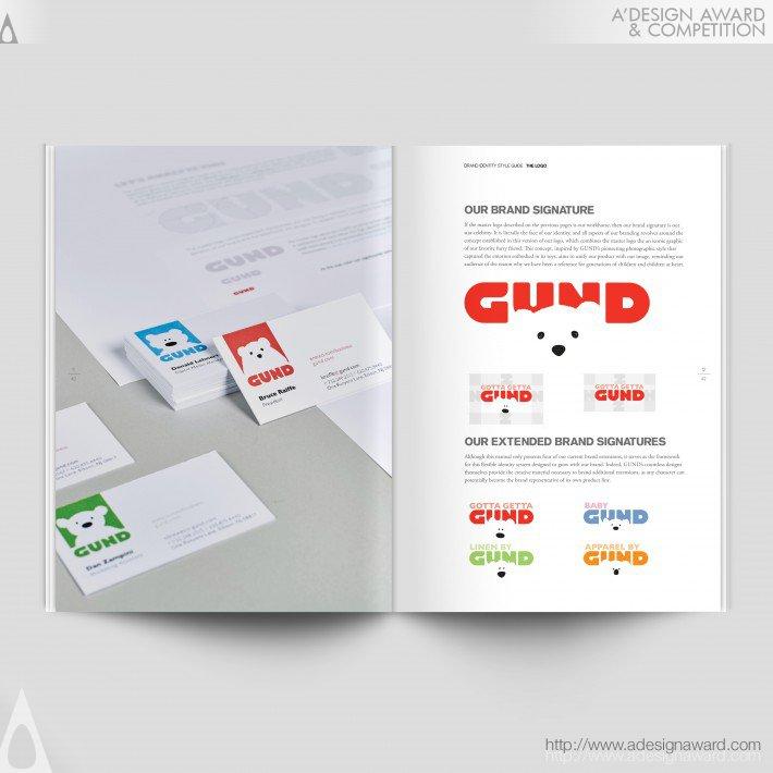 Gund (Rebrand Design)