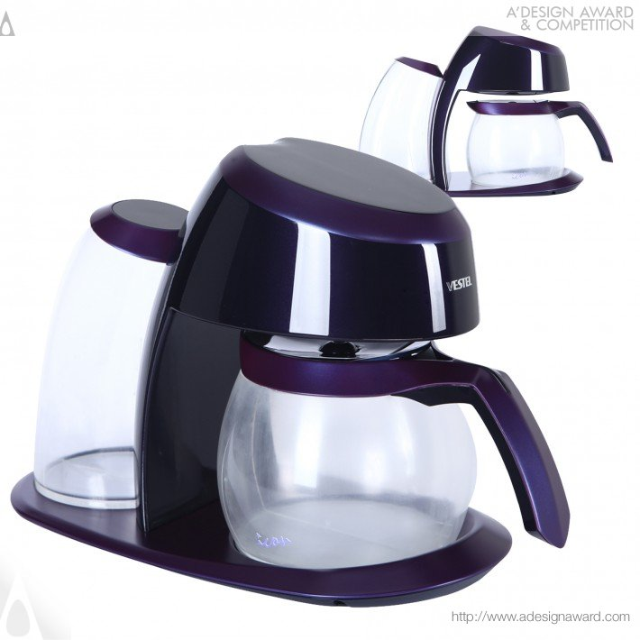 Icon Breakfast Set (Kettle, Coffee and Tea MacHine, Toaster Design)