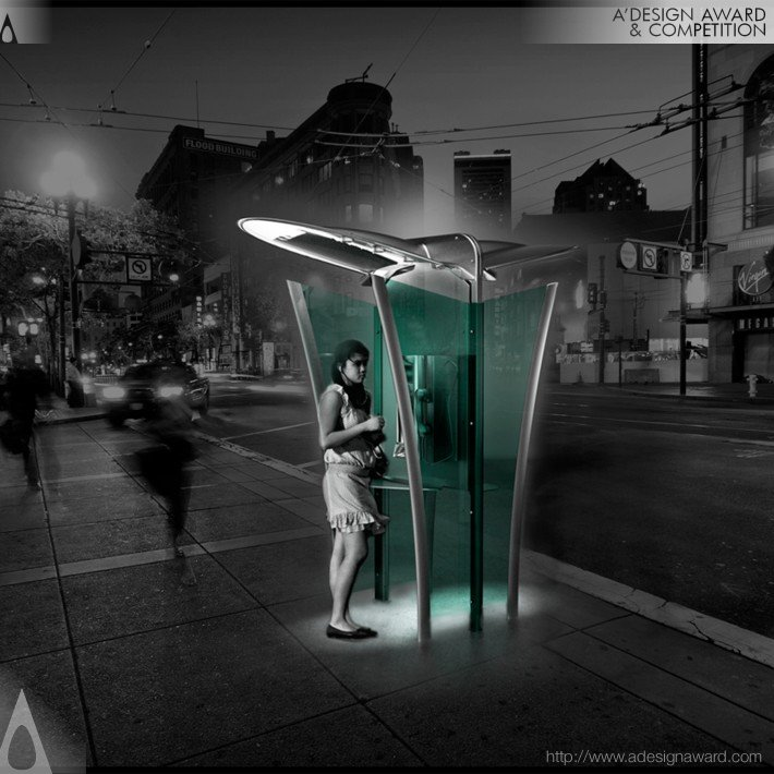 Phone Box (Public Phone Design)