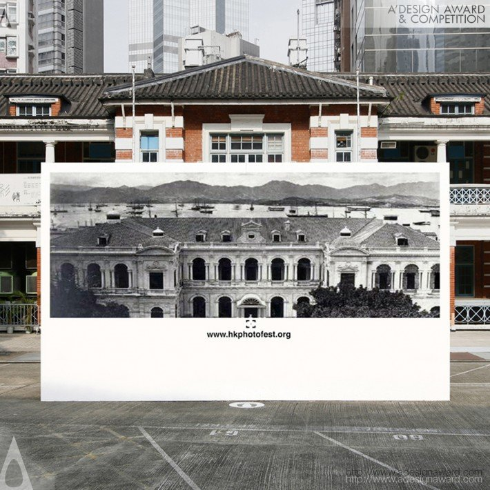 First Photographs of Hong Kong (An Old Photo Exhibition Design)