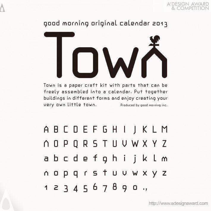 "Calendar 2013 ""town"" (Calendar Design)"