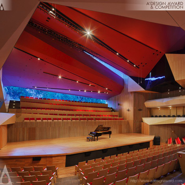 Centro Cultural Roberto Cantoral (Concert Hall Design)