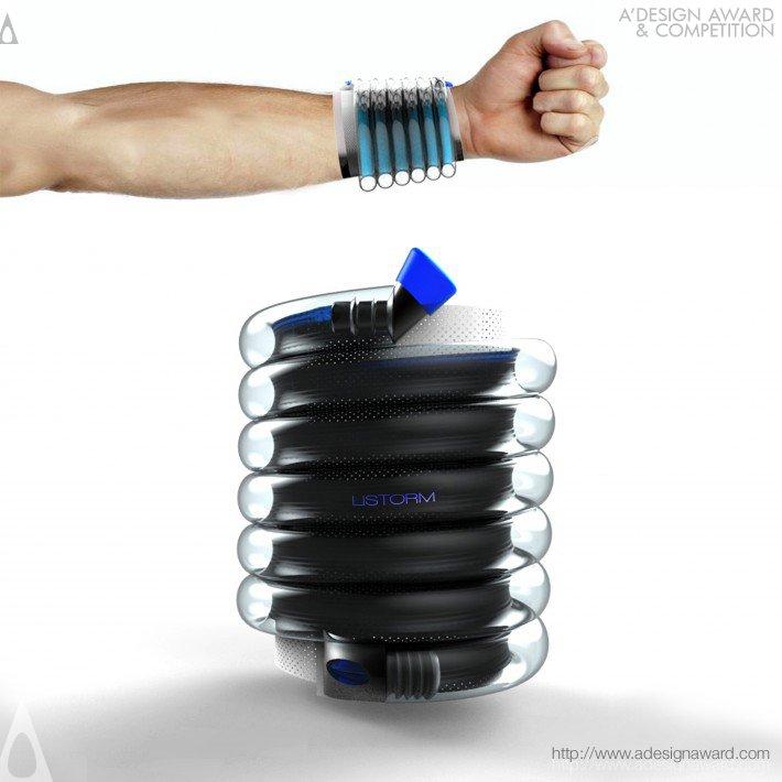 Listorm (Liquid Storage Bracelet Design)