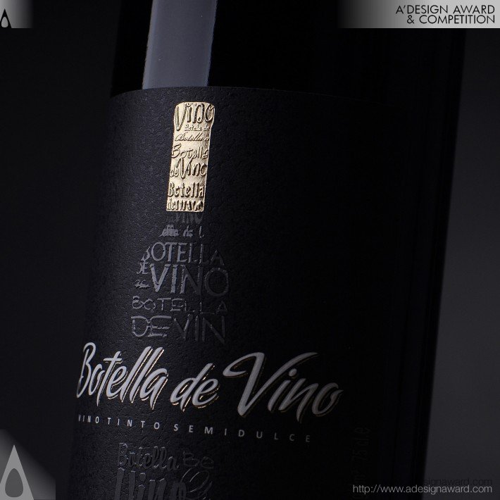 Botella De Vino (Series of Spanish Wines Design)