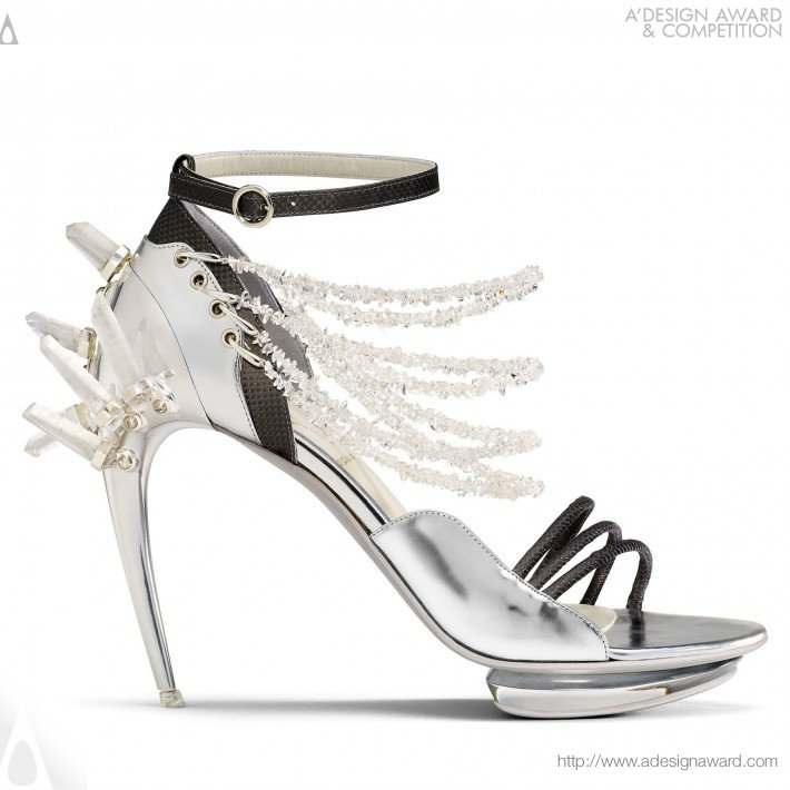 Conspiracy-Sandal Shaped Jewels (Luxury Shoes Design)