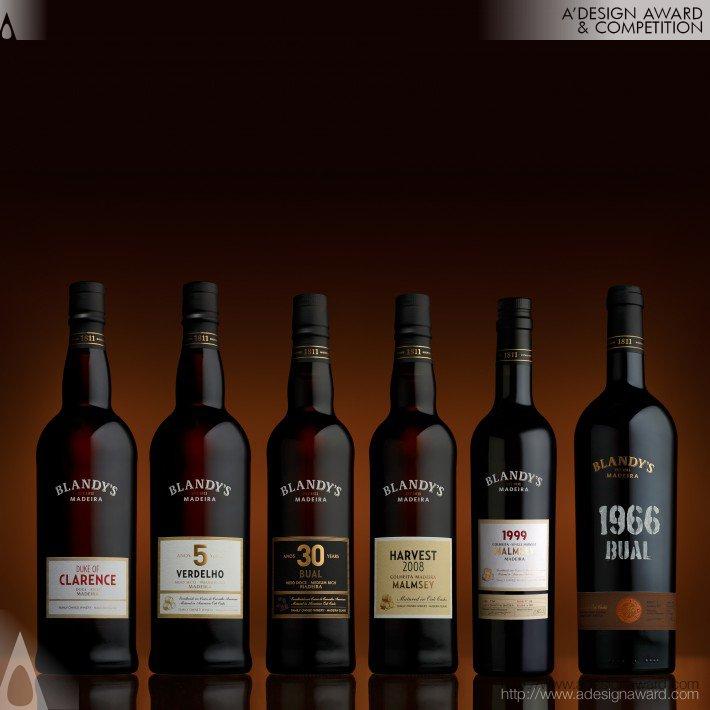 Blandy's Madeira (Rebranding Design)
