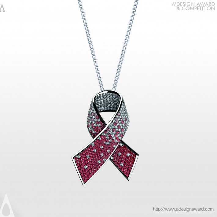 Alliance Against Aids (Diamond Pendant Design)