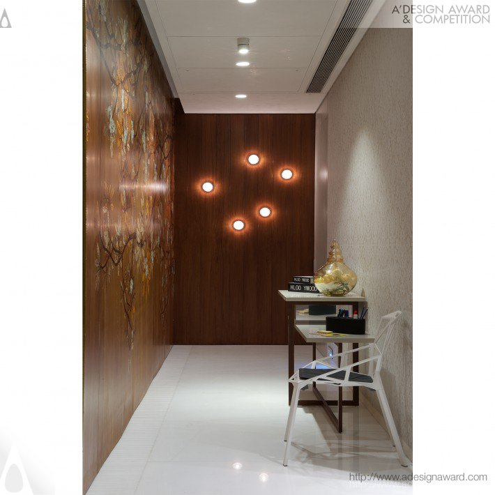 Wall Paneling by Amee Vora