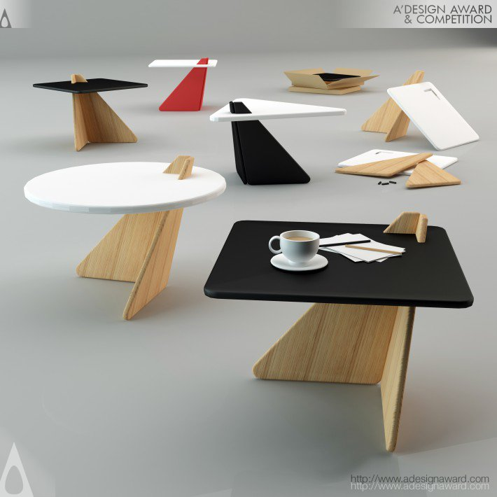 Balance Coffee Table by Mehmet Lutfi Hidayetoglu