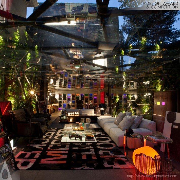 Garage Lounge (A Multipurpose Space Design)