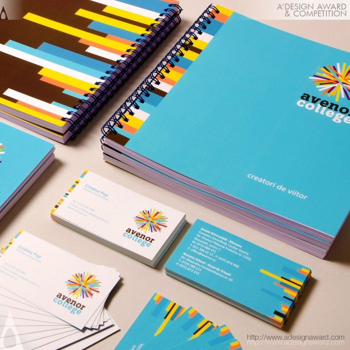 Avenor College (Corporate Brand Identity Design)