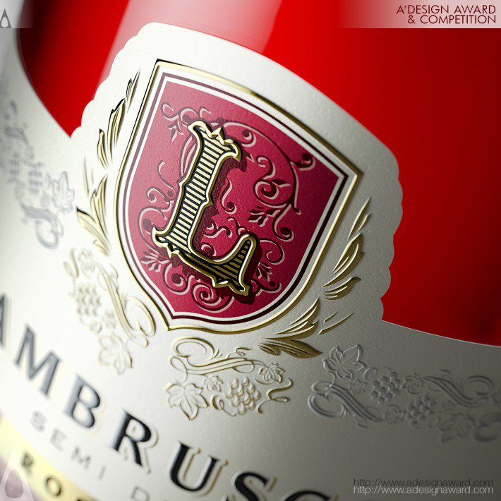 Lambrusco (Wine Label Design Design)