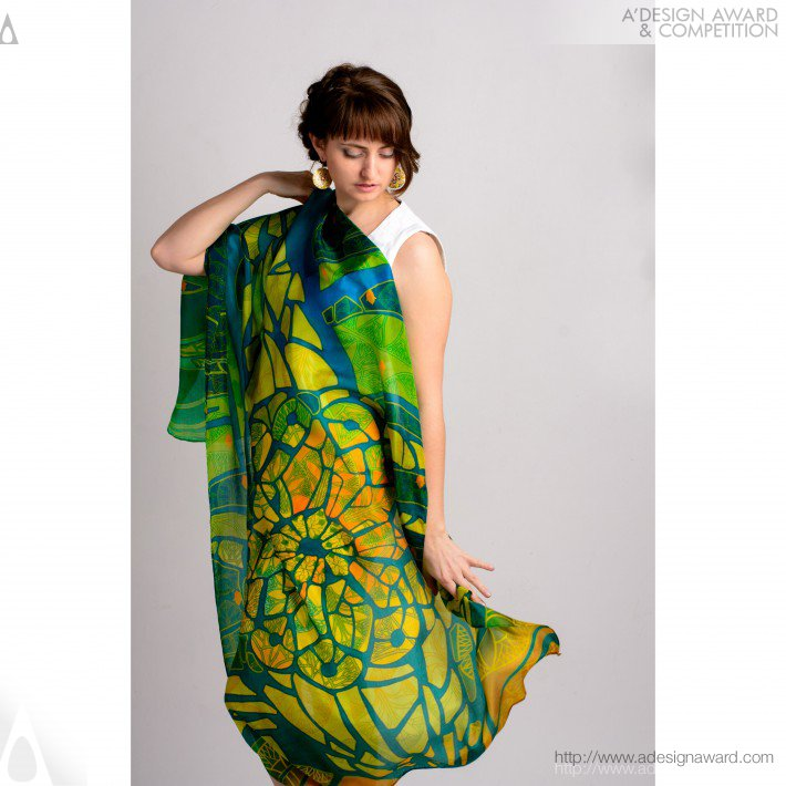 Mosaic Fantasy (Tippets and Headscarfs Design)